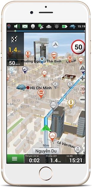 Phần mềm dẫn đường Navitel Navigator