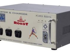 Kích điện ắc quy Robot