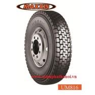 Lốp xe tải Maxxis 10.00-20 M276 18PR gai xuôi (cả bộ)