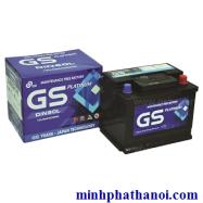 Ắc quy GS 65ah – 12v (75D23L) khô