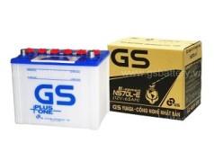 Ắc quy GS 65ah – 12v (NS70L-E) nước