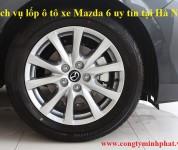 Lốp xe Mazda 6 tại Hoàn Kiếm – Hà Nội