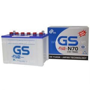 Ắc quy GS N70 (12V-70AH)