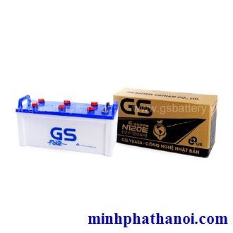 Ắc quy GS 120ah - 12v (N120-E) nước