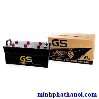 Ắc quy GS 200ah - 12v (N200-E) nước