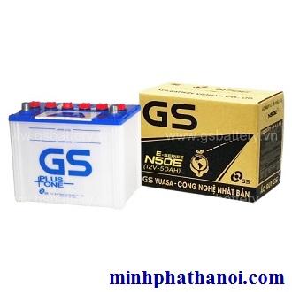 Ắc quy GS 50ah - 12v (N50-E) nước