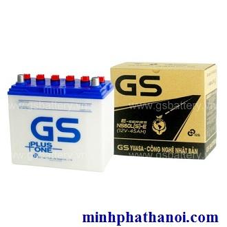 Ắc quy GS 45ah - 12v (NS60LS-E) nước
