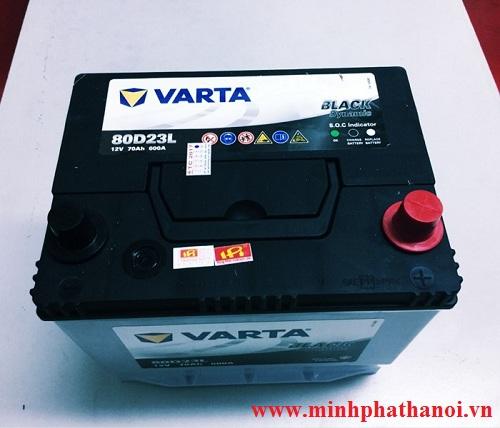 Ắc quy Varta 80D23R (70ah-12v)