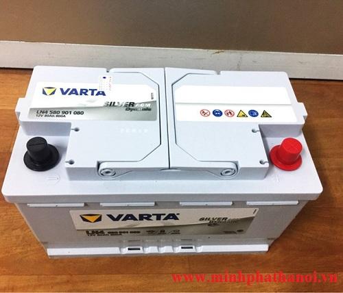 Ắc quy Varta LN4 (80ah-12v) AGM Start - Stop