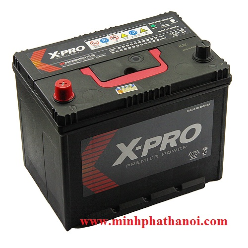 Ắc quy X-Pro 80D26L/R (12v-70ah)