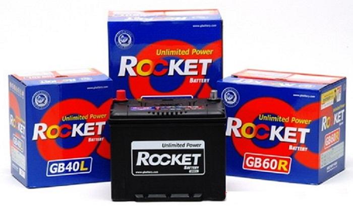 Ắc quy Khô Rocket - Thương hiệu đến từ Hàn Quốc