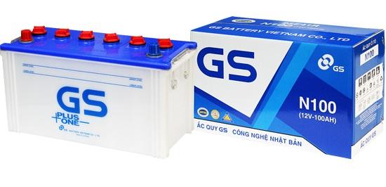 Bình ắc quy khởi động GS nước truyền thống