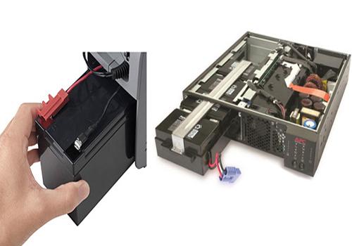 Ắc quy trong thiết bị UPS lưu điện