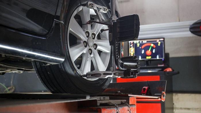 Căn chỉnh độ độ chụm, thước lái cho banh xe