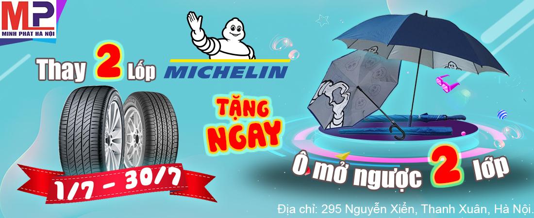 Khuyến mại thay lốp Michelin