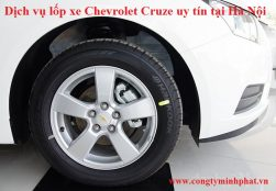 Lốp xe Chevrolet Cruze tại Thanh Xuân - Hà Nội