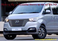 Lốp xe Hyundai Starex tại Thanh Trì - Hà Nội
