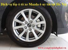 Lốp xe Mazda 6 tại Tây Hồ - Hà Nội