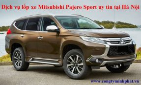 Lốp xe Mitsubishi Pajero Sport tại Từ Liêm - Hà Nội