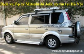 Lốp xe Mitsubishi Jolie tại Hoàng Mai - Hà Nội