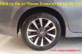 Lốp xe Nissan Teana tại Thanh Trì - Hà Nội
