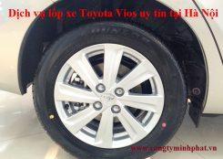 Lốp xe Toyota Vios tại Tây Hồ - Hà Nội