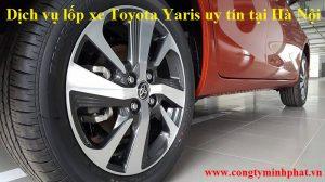 Lốp xe Toyota Yaris tại Thanh Trì - Hà Nội