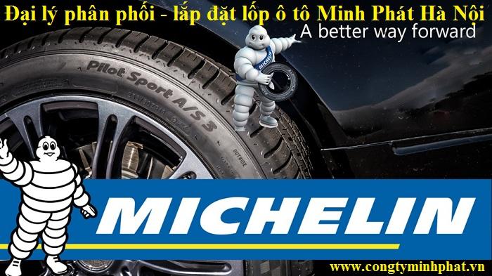 Phân phối lốp ô tô Michelin tại Thái Nguyên
