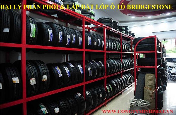 Phân phối lốp xe Bridgestone tại Bắc Giang