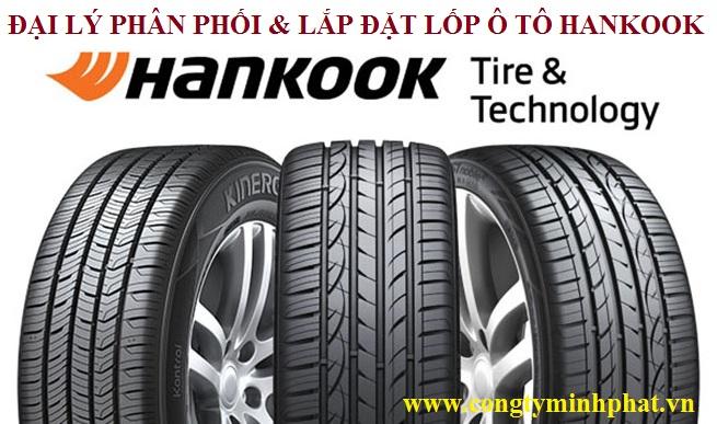 Phân phối lốp xe Hankook tại Bắc Giang