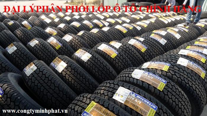 Phân phối lốp xe ô tô tại Cầu Giấy - Hà Nội