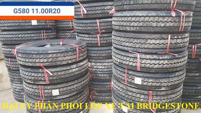 Phân phối lốp xe tải Bridgestone tại Hoài Đức - Hà Nội