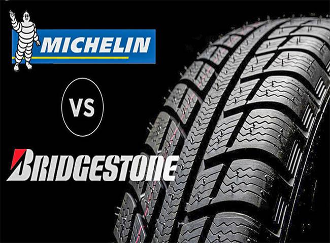 So sánh lốp michelin và bridgestone chi tiết, chính xác