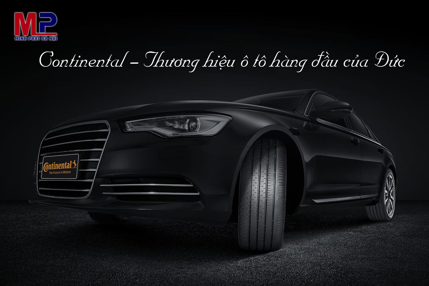 Continental - Thương hiệu ô tô hàng đầu của Đức
