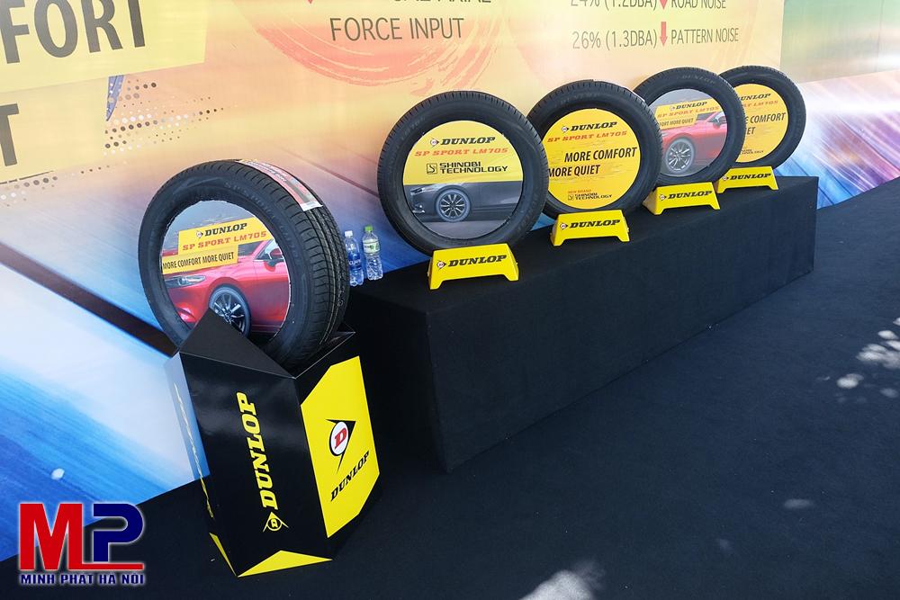 Lốp xe Dunlop của nước nào? Địa hình Việt Nam có nên dùng?