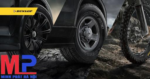 Tất tần tật những đánh giá chi tiết về dòng lốp xe Dunlop!