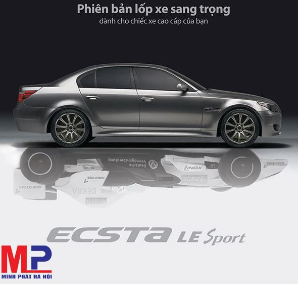 Lốp xe ô tô Kumho KU39 ECSTA LE Sport có gì nổi trội?