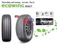 Review chi tiết lốp ưu điểm của Kumho KH27 Ecowing 175/50R15