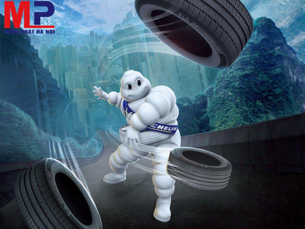 Thương hiệu lốp Michelin đa dạng mẫu mã chất lượng