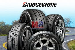 Các loại lốp Bridgestone được sử dụng nhiều với dòng xe du lịch
