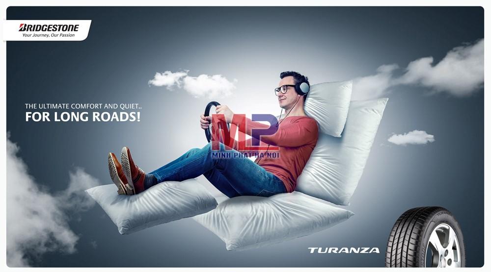 Các loại lốp Turanza của Bridgestone ngoài chất lượng tuyệt vời còn mang lại cảm giác thời thượng