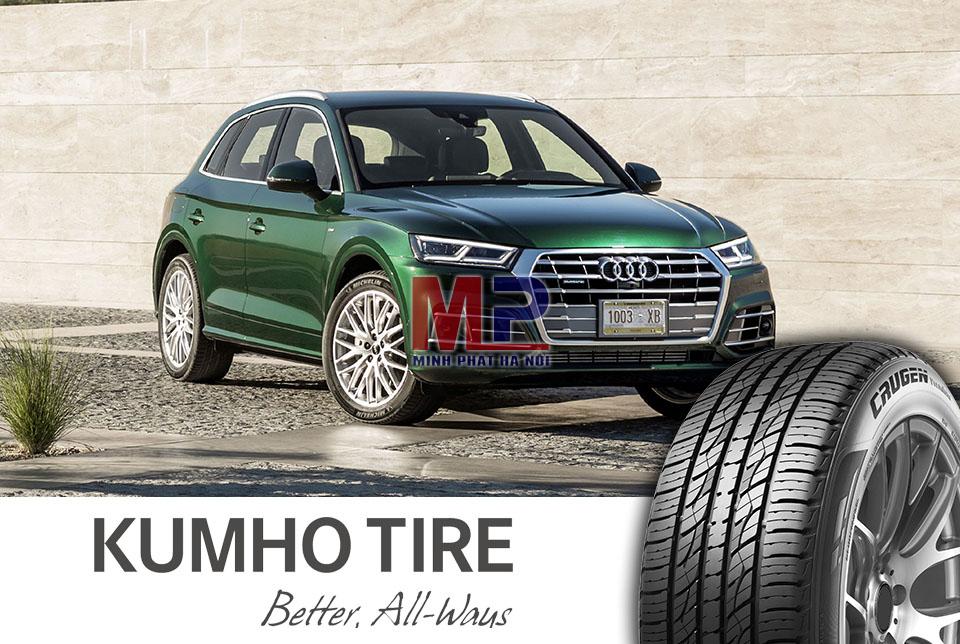 Chất lượng của Kumho khẳng định qua vị thế thương hiệu lốp xe trên thế giới
