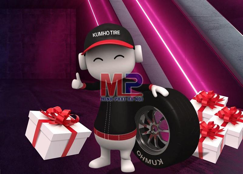 Địa chỉ mua lốp xe ô tô con Kumho chất lượng