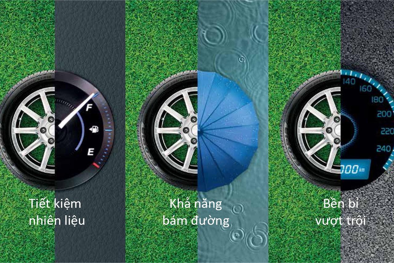 Dòng lốp Ecopia của Bridgestone có gì đặc biệt - Minh Phát Hà Nội