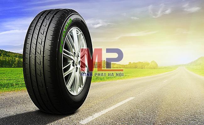 Ecopia là dòng lốp thế hệ mới với công nghệ vượt trội từ ông lớn Bridgestone