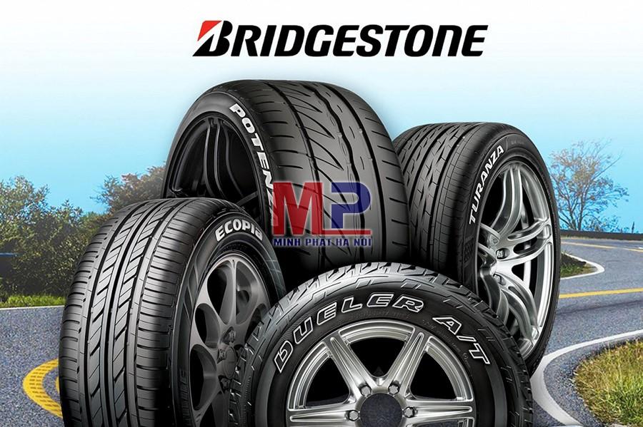 Lốp Bridgestone được phân thành các loại có thế mạnh riêng