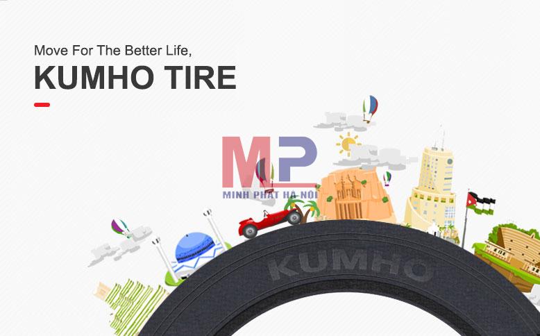 Lốp xe ô tô Kumho giá rẻ, chất lượng đáng đồng tiền