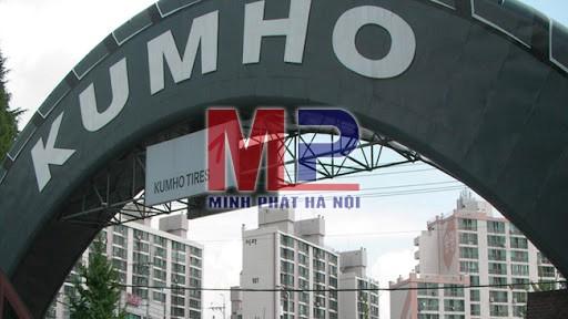 Thương hiệu lốp ô tô Kumho nổi tiếng thế giới