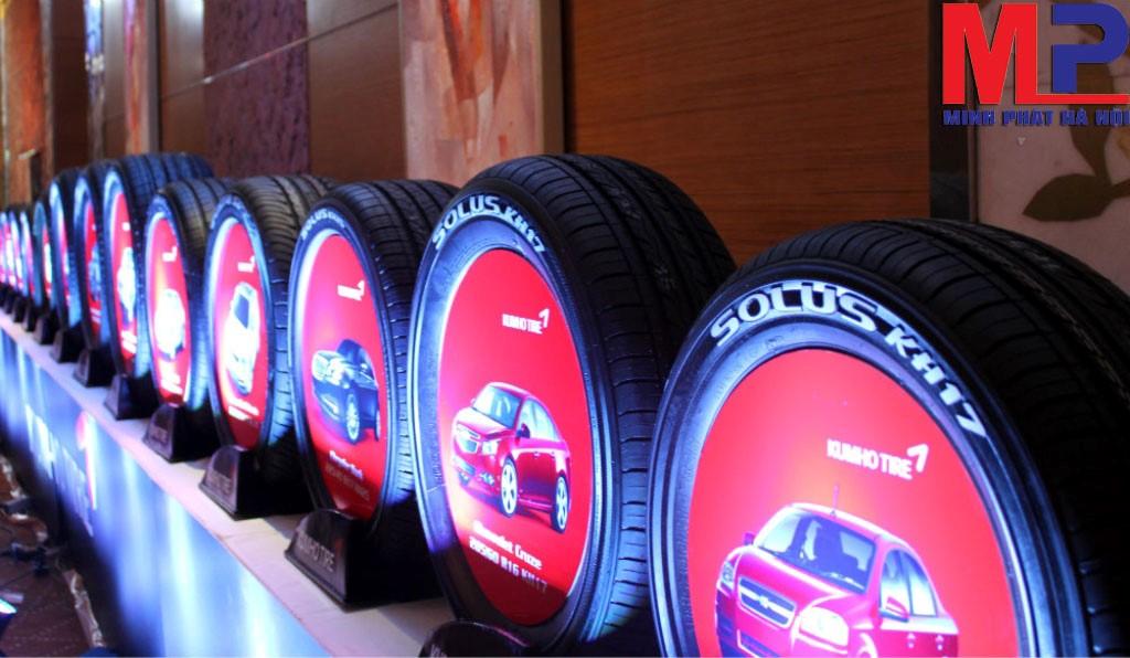 Vỏ lốp xe Kumho hiện đang là lựa chọn hàng đầu của nhiều bác tài