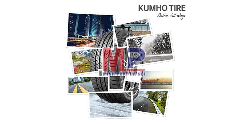 Chọn lốp Kumho theo yêu cầu kỹ thuật của xe